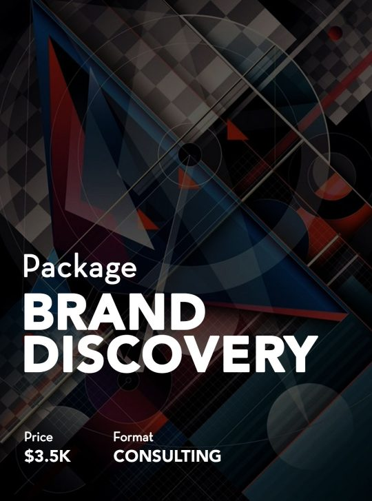 Yossi Fisher Brand Discovery Consulting Package
